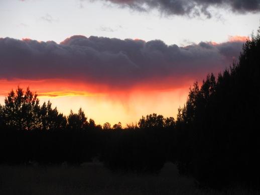 Sunset on the Rim